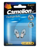 Camelion λαμπάκια φακού Crypton 3.6V 0.75A 2τμχ