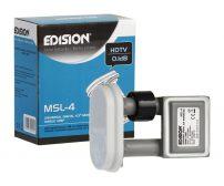 EDISION single monoblock LNB MSL-4