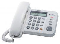 Panasonic ενσύρματο τηλέφωνο KX-TS580EX2W λευκό