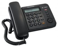 Panasonic ενσύρματο τηλέφωνο KX-TS580EX2B μαύρο