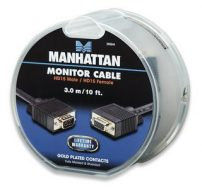 Manhattan καλώδιο VGA M/F 3m