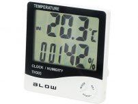 Θερμόμετρο - Υγρασιόμετρο - Ρολόι BLOW
