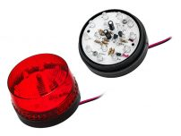 Strobe 12V Κόκκινο LED 73mm
