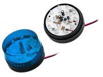 Strobe 12V Μπλε LED 73mm