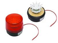 STROBE 12V RED LED ΜΑΓΝ.100MM