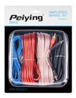 Σετ Καλωδίων Αυτοκινήτου Peiying Red-Brown-Black-Blue