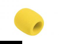 Σφουγγάρι μικροφώνου κίτρινο