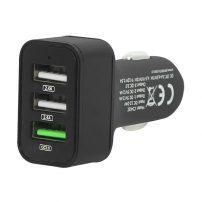 Φορτιστής αυτοκινήτου 3xUSB Quick Charge 3.0 DM-75-748 BLOW